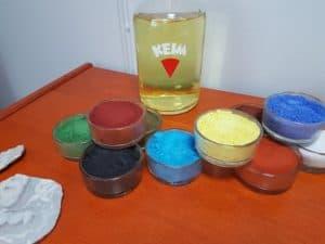 Keim ingredienser og mineralske farger
