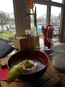 Enjoy delicous organic food from Ceuvel floating garden!