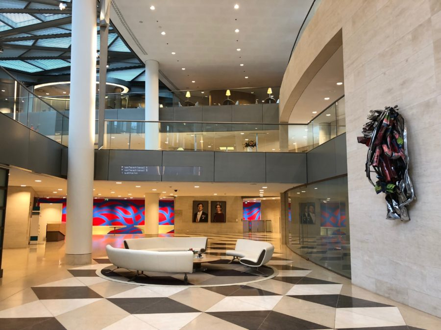 Circl.Amsterdam.ABN Amro office interiour