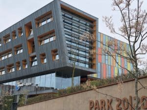 Office buildings in Park2020 Amsterdam