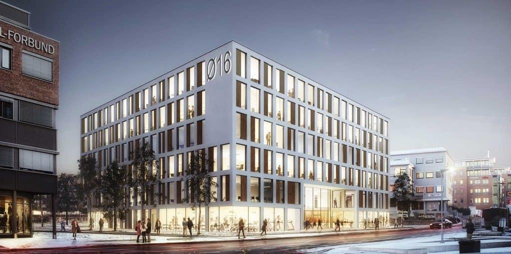 Ferd Eiendom nytt kontorbygg i Østensjøveien 16 i Oslo