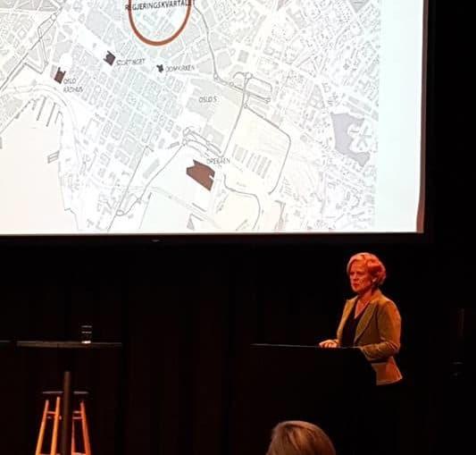 Elin Hansen fra Statsbygg på Greenbuilt Dialogkonferanse 7.januar 2019