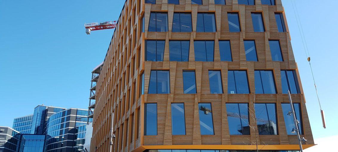 Valle Wood kontorbygg i Oslo