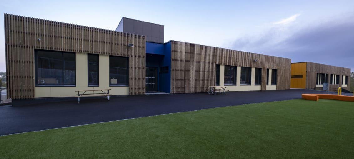 Sydskogen Skole i Røyken Kommune er Svamnemerket