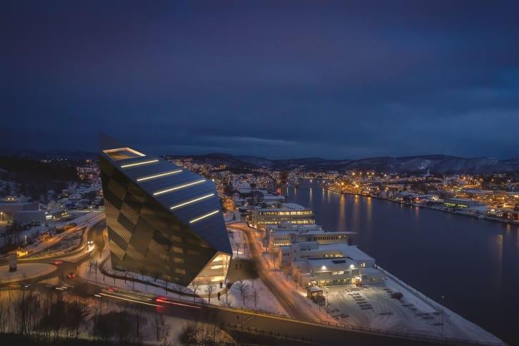 Powerhouse Telemark av Snøhetta arkitektkontor
